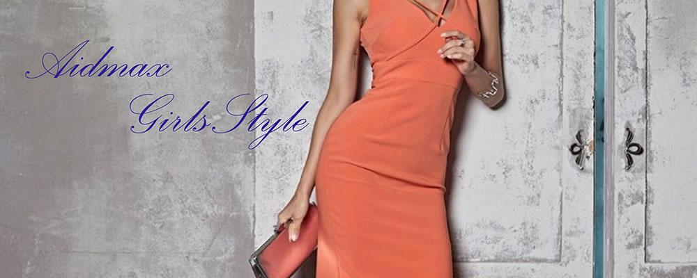 ドレス通販ストア「AIDMAX Girls Style(アイドマックスガールズスタイル)」バナー